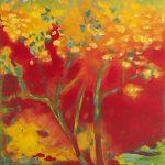 Impression aus Okzitanien / Impression from Occitania, 2013 Acryl auf Leinwand 130 x 100 cm