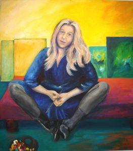 Selbstporträt / Self-portrait 2004, Gloria Jarden