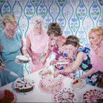 Janina C. Bruegel - Greed (Gier) 2019 [Die Narzissmus Epidemie / The Narcissism Epidemic] Acryl und Tusche auf Leinwand, 140 x 160 cm