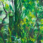 Bernd Zimmer, Regenwald II, 2013, Acryl auf Leinwand, 200 x 160 cm, WV 2379