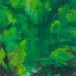 Bernd Zimmer, Quelle VI (Kristallwelt), 2012, Acryl auf Leinwand, 120 x 100 cm, WV 2349