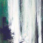Bernd Zimmer - Wassersturz III, 2011, Acryl auf Leinwand, 160 x 120 cm, WV 2261