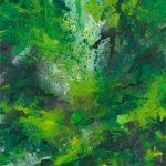 Bernd Zimmer, Feuchtgebiet. Aufstieg, 2012, Acryl auf Leinwand, 160 x 130 cm, WV 2330