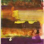 Bernd Zimmer, Reflex, 2017, Acryl auf Papier, 42 x 29,5 cm, WV 2504