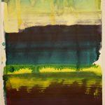Bernd Zimmer, Reflex, 2017, Acryl auf Papier, 42 x 29,5 cm, WV 2515
