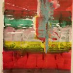 Bernd Zimmer, Reflex, 2017, Acryl auf Papier, 42 x 29,5 cm, WV 2521