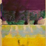 Bernd Zimmer, Reflex, 2017, Acryl auf Papier, 42 x 29,5 cm, WV 2536