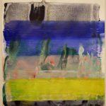 Bernd Zimmer, Reflex, 2018, Acryl auf Papier, 42 x 29,5 cm, WV 2568