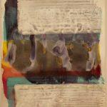Bernd Zimmer, Reflex, 2018, Acryl auf Papier, 42 x 29,5 cm