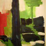 Bernd Zimmer, Marae, 1996, Acryl auf Papier, 90 x 70 cm