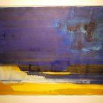 Bernd Zimmer, Namib, 2001, Acryl auf Papier, 70 x 100 cm