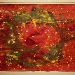 Bernd Zimmer, Cosmos, 2003, Acryl auf Papier, 50 x 70 cm