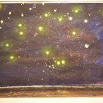 Bernd Zimmer, Cosmos, 2006, Acryl auf Papier, 50 x 70 cm