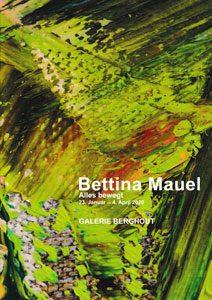 Exhibition catalogue Bettina Mauel