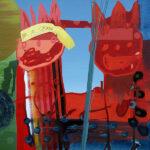 Markus Honerla, 2013, 2013, 160 x 200 cm, lacquer and oil on canvas, € 5.400