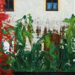 Markus Honerla, 2008, Neu-Amerika, 160 x 200 cm, lacquer and oil on canvas, € 5.400