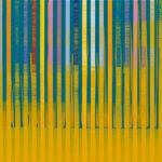 Markus Honerla, kleines zu wenig am Meer III, 2020, 40 x 50 cm, Lack und Acryl auf Leinwand, € 1.800