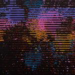 Markus Honerla, 2020, zu wenig am Meer VII, 80 x 70 cm, lacquer and acrylic on canvas, € 3.000