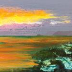 Markus Honerla, 2019, Dytiko, 100 x 140 cm, lacquer on canvas, € 4.800