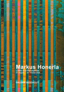 Ausstellungskatalog Markus Honerla - Lines and Perception, 2020