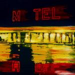 Markus Honerla, 2021, M TEL, 60 x 70 cm, Lack und Öl auf Leinwand